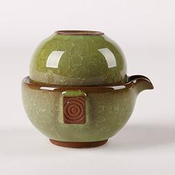Dehua Porcelain Ice Crack Chinese Kung Fu Teaset,porcelain C