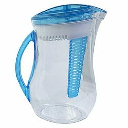 2pk Infuser Filter BPA-Free Water Pitcher Fruit Flavor Infus