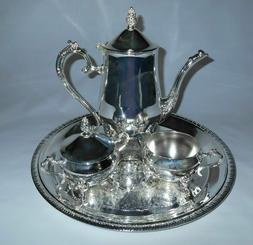 International Silver Company Silver Plated 4 Pc Coffee Tea S