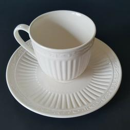 Mikasa Italian Countryside Coffee Tea Cup & Saucer New Never