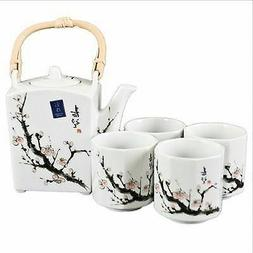 Happy Sales Japanese Cherry Blossom Tree Tea Set