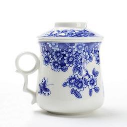 Japanese Tea-Mugwith Strainer And Lid,TEANAGOO-Neptune,Porta
