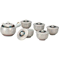 japanese tea set gold shippou