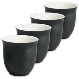 FORLIFE Japanese Teacup , 6.5 oz, Black Graphite