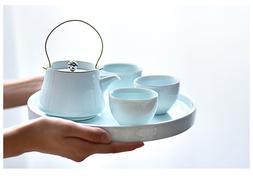 Jingdezhen China antique Kung Fu teapot teacup <font><b>tea<
