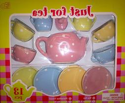 Just for Tea 13 Pcs Porcelain Set