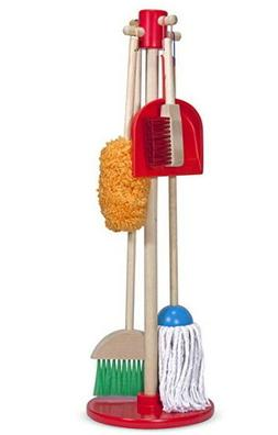 Kids Toy Melissa Doug Let's Play House Dust Sweep Mop A se