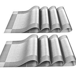 YOY Set of 8 Kitchen PVC Placemats - Fahion Dining Room Tabl