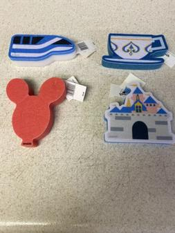 Disney Kitchen Sponge Set Of 4 Monorail Tea Cup Mickey Ballo