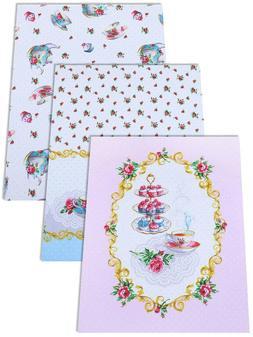 Kitchen Towels Set of 3 Made Russia Cotton Dish Tea Towels F