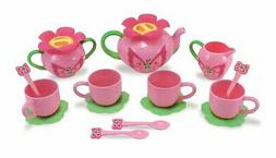 Kitchen Toy Tea Set Party Pretend Play Teapot Butterfly Cups