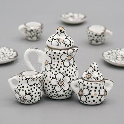 Odoria Porcelain Tea Cup Set Plum Kitchen