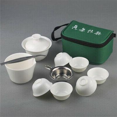 11Pcs Chinese Cerami Bone China Fu