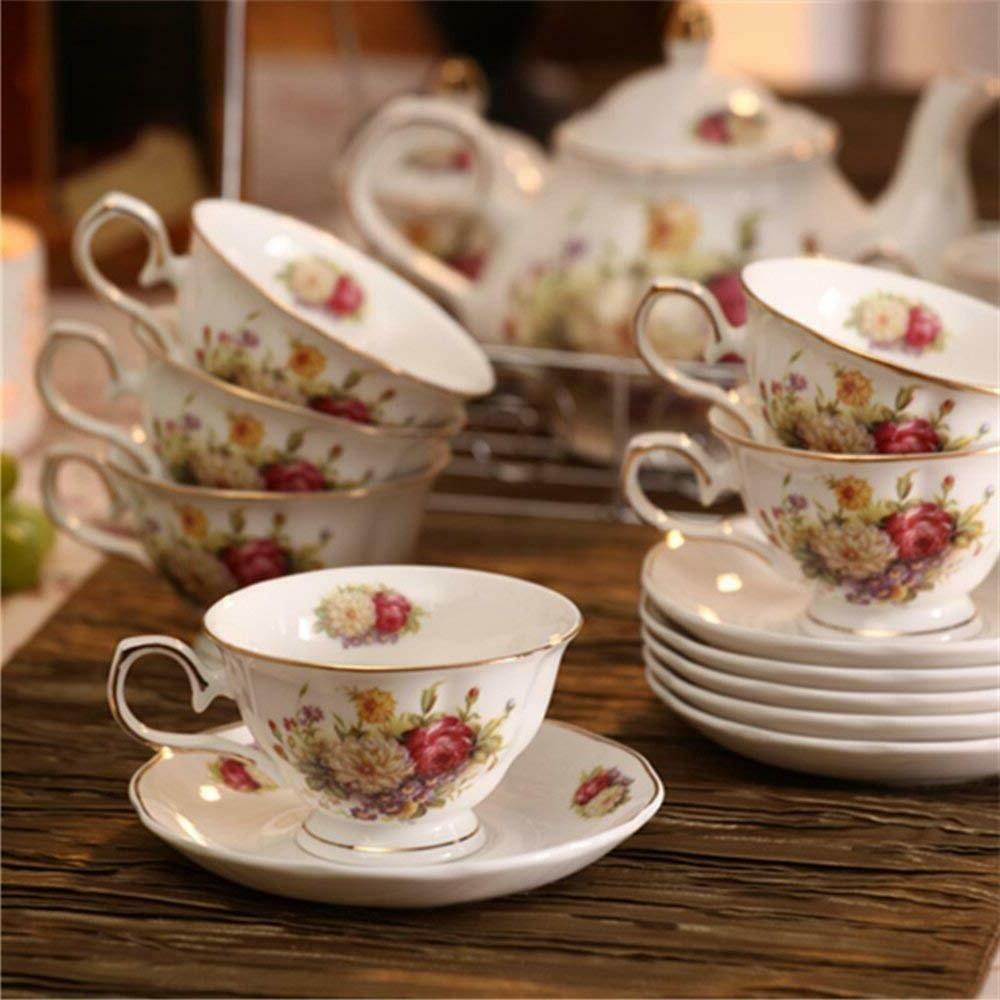 15 Ceramic Tea China Set