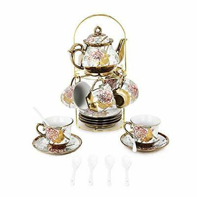 Tea Set Tea SetWith Holder,flower