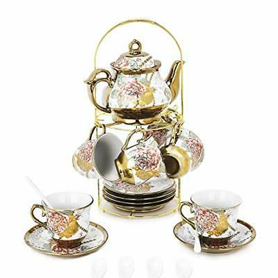 20 piece european ceramic tea set porcelain