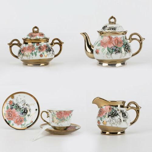 22pcs Royal Tea Household Cup&Saucer