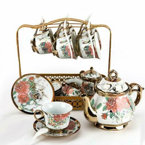 22pcs royal tea set household ceramic coffee