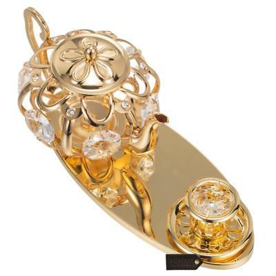 24K Gold Plated Set Ornament Genuine