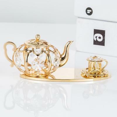 24K Gold Plated Tea Set Genuine Matashi