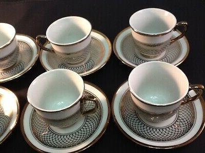 3 Espresso 12 piece Saucer 703 3oz cups ☕