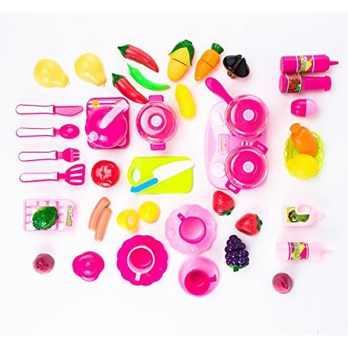 42 Piece Set for Kids Development Food