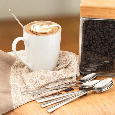 6pk Spoon Steel Coffee