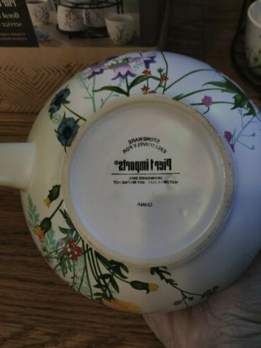 PIER 1 pc Tea Teapot 4 Stand