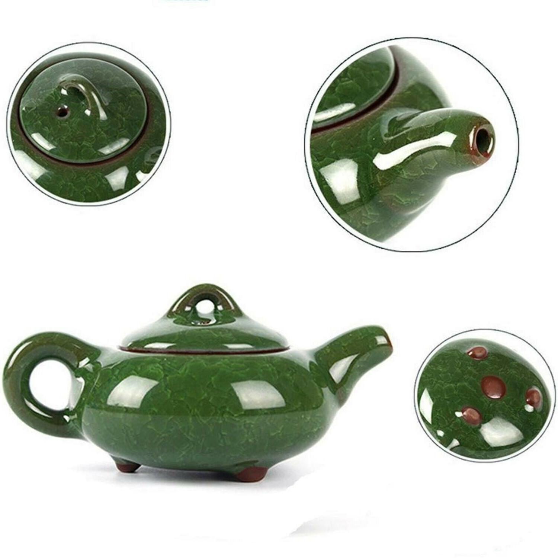 7 Piece Set Fu Porcelain + Cups