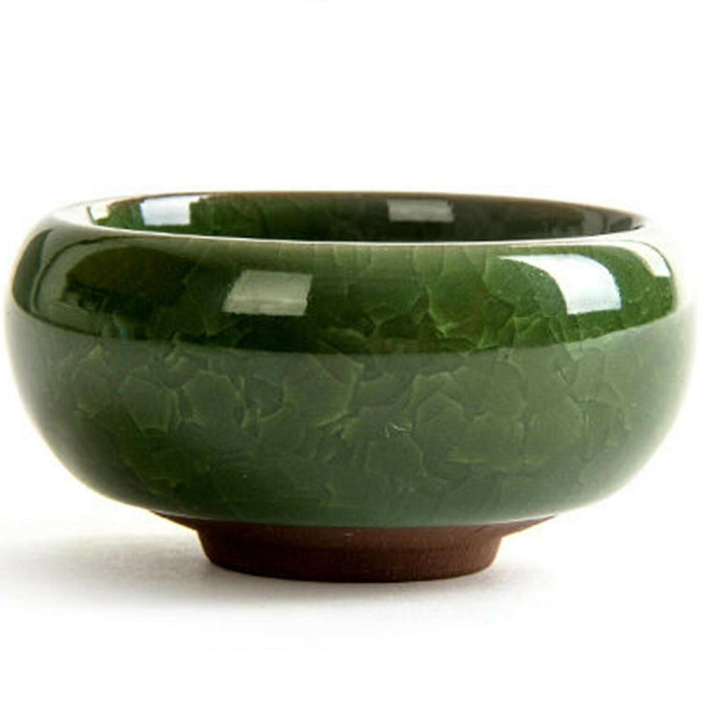 7 Piece Chinese Set Fu Porcelain Pot Cups