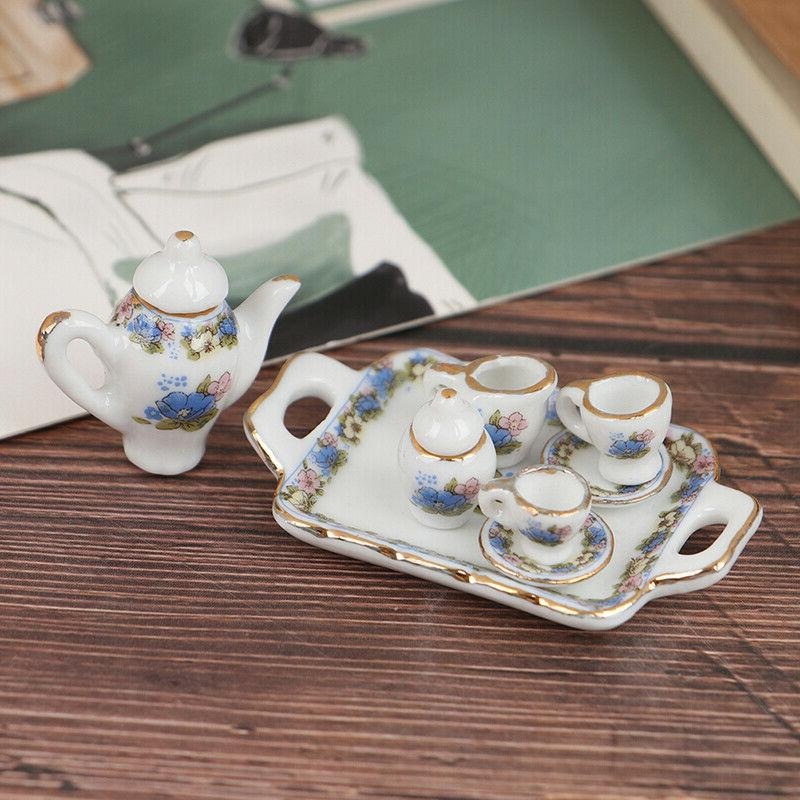 8pcs 1 12 dollhouse miniature dining ware