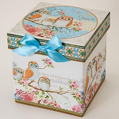 Bits and - Tea For One Owls Porcelain Teapot - Adorable