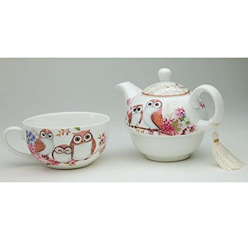 Bits Tea Porcelain Cup -