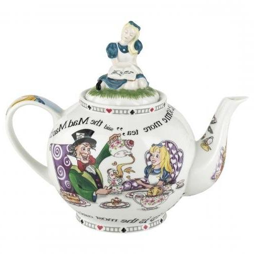 Cardew Design Alice in Wonderland 6-Cup Teapot, 48-Ounce