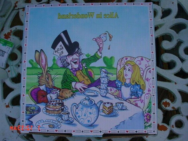 Cardew Design Alice in Wonderland Miniature Collector's Tea