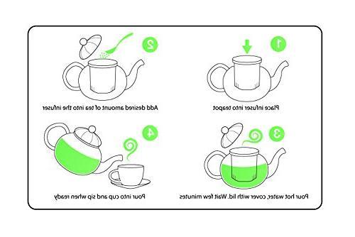 Glass Warmer Lead Glass No Drip Tea