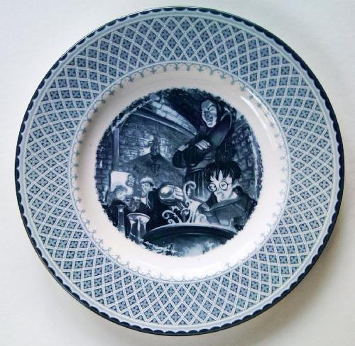 "Harry Potter Severus Snape Potions Class 8"" Plate"