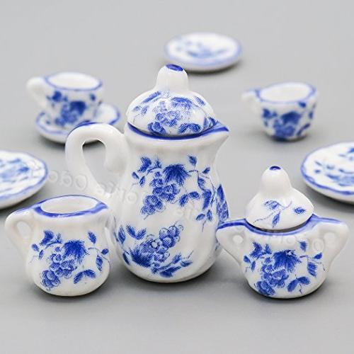 Odoria Blue Set Blue Chintz Kitchen