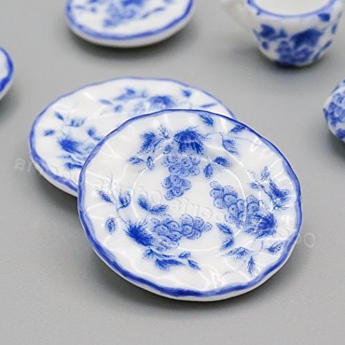 Blue Porcelain Kitchen Accessories