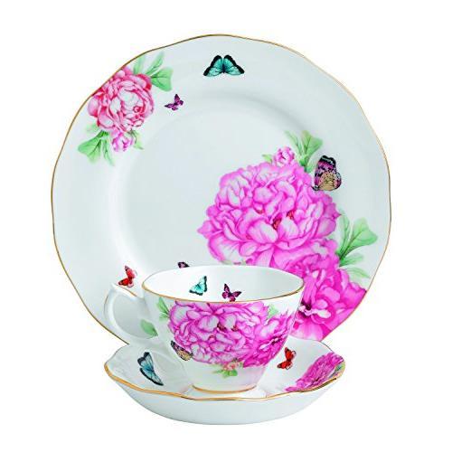 Royal Albert Miranda Kerr 3 Piece Friendship Plate Set
