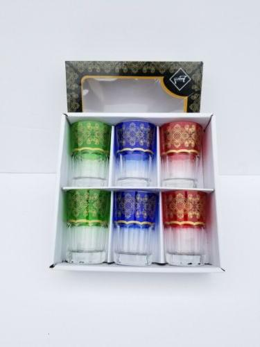a high quality moroccan tea glasses set