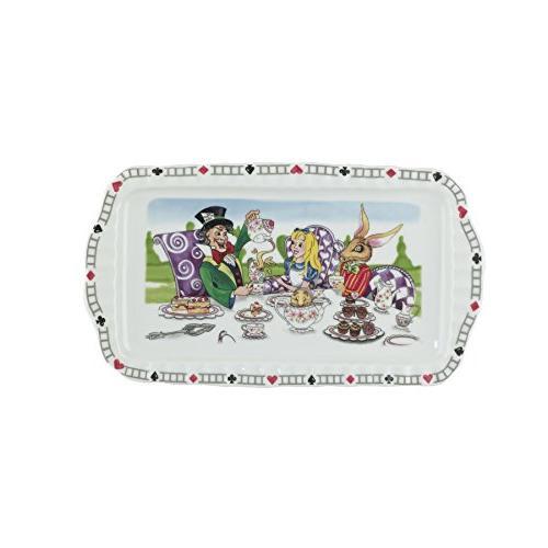 Cardew Alice Wonderland Rectangular Porcelain 12