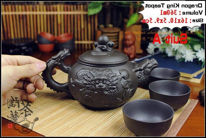Authentic Fu Dragon Kettle Teapots Porcelain