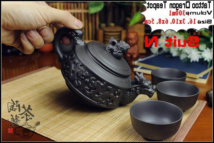Authentic Pcs Fu Teapots Handmade Porcelain