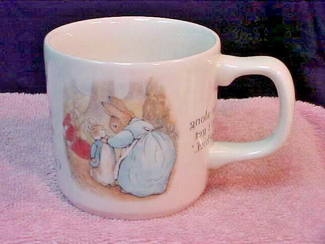 Wedgwood Beatrix Potter World Mug w/Box