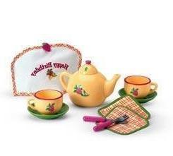 American Girl Bitty Baby Birthday Tea Set