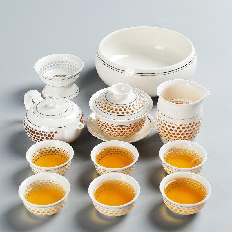 TANGPIN teapot porcelain chinese kung <font><b>tea</b></font>