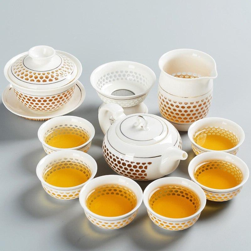 TANGPIN teapot kettles porcelain kung fu <font><b>tea</b></font> drinkware