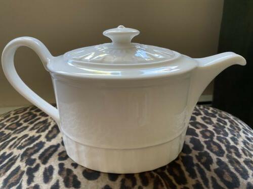 Wedgwood China Whiteware Teapot No Trim Tag.