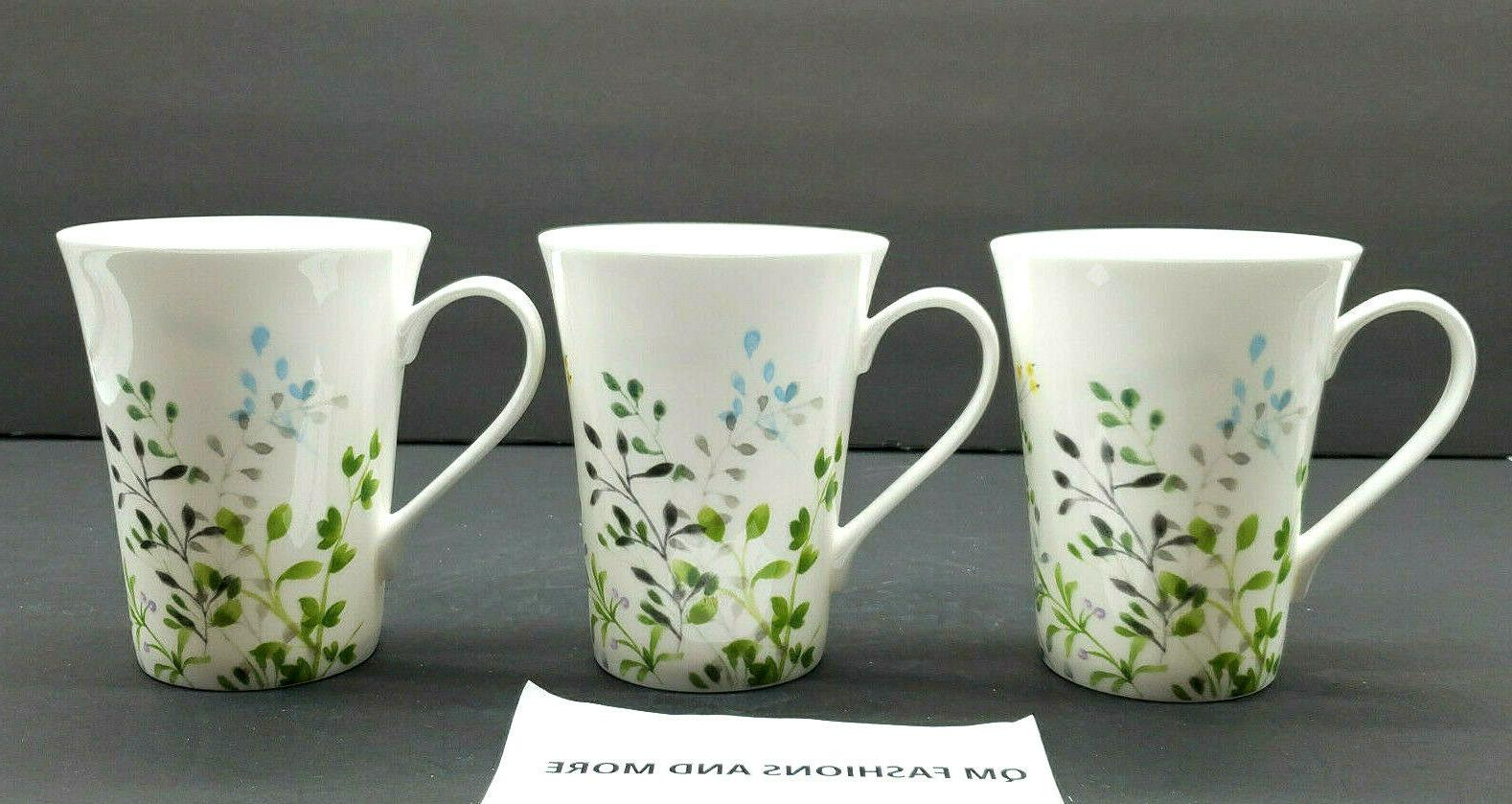 Mikasa ~ Bone Set of Mugs Cups NWT